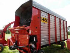 H&S XL 98 16' LH FORAGE WAGON