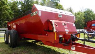 H&S 2606 TANDEM AXLE SLURRY MANURE SPREADER