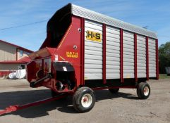 H&S TWIN AUGER 16' LH FORAGE WAGON