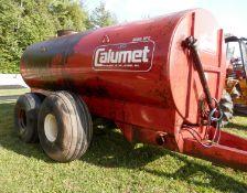 CALUMET MDL 3250 MANURE TANKER