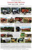 Tractors, Antique Farm Equipment, More