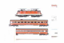"""Märklin 2843, Schnellzugpackung """"150 Jahre Eisenbahn in Österreich""""<b"""
