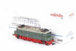"""Märklin 3449, Elektrolok """"204 001-2"""" der DR (DDR)<"""