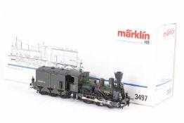 """Märklin 3497, Dampflok B VI """"MURNAU"""" der K.Bay.Sts.B.<"""