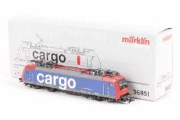 """Märklin 36851, Elektrolok """"482 011-4"""" der SBB """"cargo""""<"""