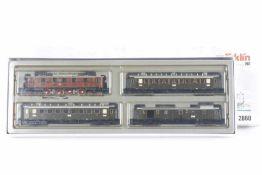 Märklin 2860, Bayerischer Reichsbahn-Schnellzug<