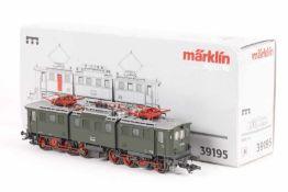 "Märklin 39195, Elektrolok ""E 91 100"" der Bundesbahn<"
