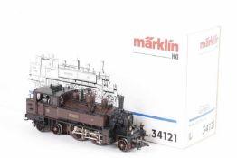 """Märklin 34121, Tenderlok P 2.II """"REINHEIM"""" der Pfalzbahn<"""