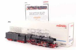 """Märklin 34171Märklin 34171, Dampflok """"52 1911"""" der Bundesbahn, DELTA-System, Lüfter im Tender"""