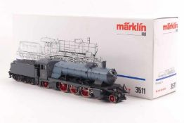 "Märklin 3511Märklin 3511, württ. Dampflok Reihe C ""2007"", Fünf-Sterne-Antrieb, elektronische"