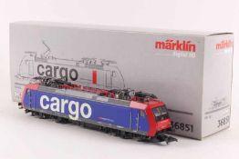 """Märklin 36851Märklin 36851, Elektrolok """"482 011-4"""" der SBB """"cargo"""", fx-Digital-Technik, sehr gut"""