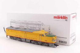 """Märklin 49610Märklin 49610, Ergänzungsteil US-Diesellok Alco PA """"600"""" der Union Pacific, passend"""