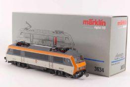 """Märklin 3634Märklin 3634, Elektrolok """"BB 26 004"""" der SNCF, Wappen """"CERNAY"""", Digital-Technik, sehr"""