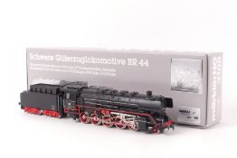 "Märklin 3108Märklin 3108, ""BR 44"", sehr guter Zustand, Zertifikat, Anleitung, grauer ORK mit"