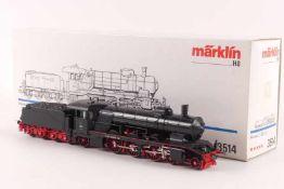 """Märklin 3514Märklin 3514, Dampflok Klasse C """"2004"""" der württ. Staatsbahn, schaltet, Motor reagiert"""