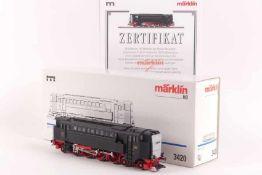 """Märklin 3420Märklin 3420, Diesel-Druckluft-Lok """"V 32 01"""" der DRG, DELTA-System, auch digital"""