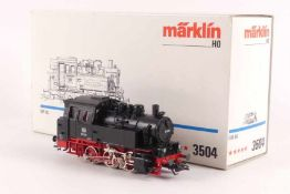 """Märklin 3504Märklin 3504, Tenderlok """"80 030"""" der DB, analog, elektronische Umschaltung, *****-"""