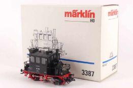"""Märklin 3387Märklin 3387, 'Glaskasten', Lokalbahn-Tenderlok """"98 308"""" der Bundesbahn, analog,"""