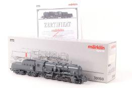 """Märklin 39160Märklin 39160, Dampflokomotive """"42 9000"""" der DB, Franoc-Crosti-Abgasvorwärmer, C-"""