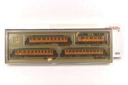 """Märklin 2870Märklin 2870, """"Historischer Schwedenzug"""": Elektrolok """"101"""" der SJ, Holzaufbau, analog,"""