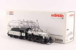 """Märklin 34559Märklin 34559, Dampflokomotive BR 55 """"2000"""", `10 Jahre Märklin MHI´, DELTA-System, auch"""