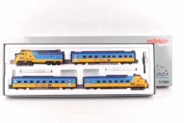 """Märklin 37500Märklin 37500, """"Northlander"""", vierteiliger Triebwagenzug, Diesellokomotive F7 """"1984"""","""