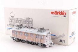 """Märklin 3171Märklin 3171, Elektrolok """"109"""" der SJ, analog, verschneit, zwei Dachaufsätze (Schraube"""