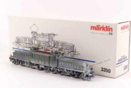 """Märklin 3359Märklin 3359, 'Krokodil', Elektrolok Be 6/8 III """"13303"""" der SBB, eingeschneit, Aufbau"""
