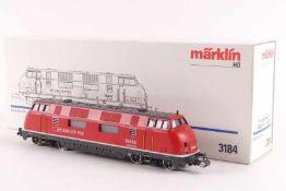 "Märklin 3184Märklin 3184, Diesellok ""18462"" der SBB, analog, vermutlich verharzt, optisch sehr gut"