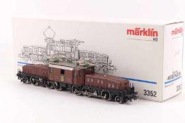 """Märklin 3352Märklin 3352, 'Krokodil', Elektrolokomotive """"14301"""" der SBB, analog, Gussaufbau, ohne"""