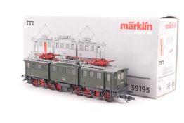 """Märklin 39195, Elektrolok """"E 91 100"""" der Bundesbahn, fx-Digital-Technik, C-Sinus-Motor, Lokpfiff,"""
