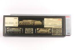 """Märklin 3600, """"750 Jahre Berlin"""", der Loks, drei Fabrikschilder, Digital-Technik, sehr gut erhalte"""