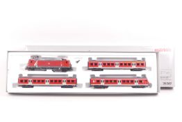 "Märklin 26507, S-Bahn-Wendezug, Elektrolok ""143 606-2"" der DB-AG, Digital-*-Technik, ,drei Wagen,"