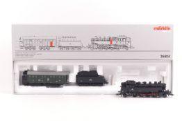 """Märklin 26831, Zugpackung """"Dampfschneeschleuder"""" der ÖBB, Tenderlok """"86 106"""", Schneeschleuder und"""