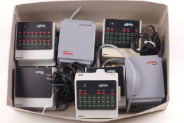 Märklin zwei 6002 Transformatoren 52 VA, 60052 Transformator 60 VA, 60174 Booster, 6040 Keyboard,