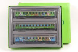 Märklin 4190, Umweltzug, drei Wagen, sehr gut erhalten, ORK mit Lagersspuren an einer Ecke eingeri