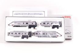 """Märklin 39100, vierteiliger Tages-Gliederzug VT 10.5 """"SENATOR"""" der DB, mfx-Digital-Technik, Softdr"""