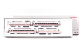 Märklin 39711 Triebwagenzug ICE 1, vierteiliger Schnelltriebwagenzug ICE 1 der DB, Digital fx Tech