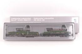 Märklin 3300, zwei Elektrische Lokomotiven Be 6/8 13302 der SBB und BR194 155-8 -DB, sehr gut erh