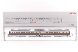 Märklin 37770, 'Fliegender Hamburger', zweiteiliger Schnelltriebwagen SVT 137, Digital-*-System, G