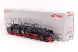 """Märklin 37842, Dampflok """"50 1924"""" der DB, Digital-Technik, Telex-Kupplung schaltbar, sehr gut erha"""