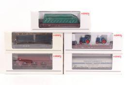 Märklin fünf Güterwagen 48163, 48102, 46948, 46942, 48688, ORK, sehr gut erhalten