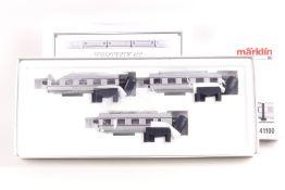 """Märklin 41100, dreiteilige Ergänzung zum Tages-Gliederzug VT 10.5 """"SENATOR"""" der DB, sehr gut erha"""