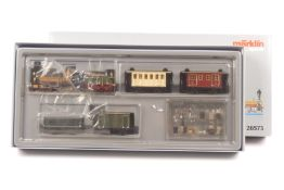 "Märklin 26573, Württemberger Zug um 1859, Dampflok ""ESSLINGEN"", Digital-*-Technik, Tender, vier W"