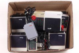 """Märklin Konvolut """"control Unit"""" digital, Control 80, Control 80 f, 5 Booster 6015, 1 Booster 601"""