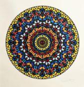 Damien Hirst (b.1965) British Entreaty (2013) limited edition silkscreen print with glitter-