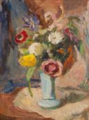 Roderic O'Conor RHA (1860-1940) Still Life with Flowers oil on board stamped lower right atelier O'