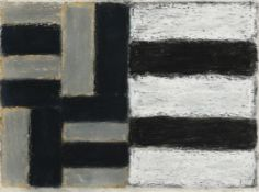 Sean Scully (b.1945) 9.2.89 (1989) pastel on paper signed and dated 'Sean Scully 9.2.89' lower right