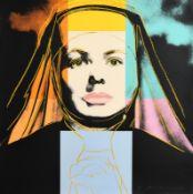 Andy Warhol (1928-1987) American The Nun, from Ingrid Bergman, 1983 (F. & S. II.314) screenprint