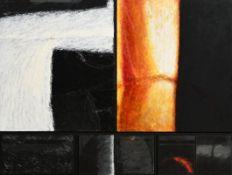 John Shinnors (b.1950) St. John's Night, Carraroe, Inishmor oil on canvas on panel signed lower